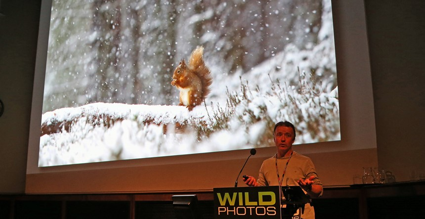 Peter Cairns talk at Wild Photos